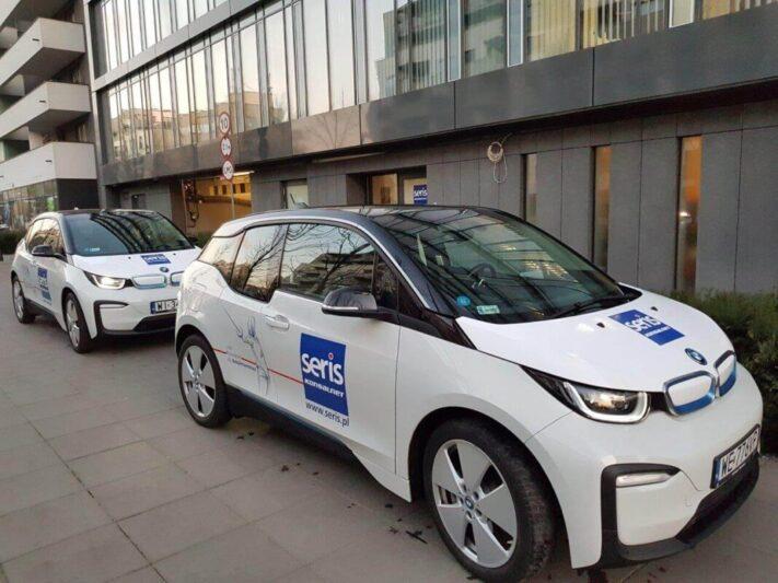 BMW dwa przedfirmą light