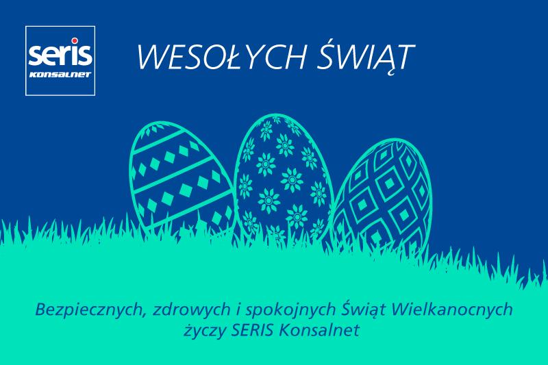 Grupa SERIS Konsalnet e-kartka Swięta Wielkanocne 2020