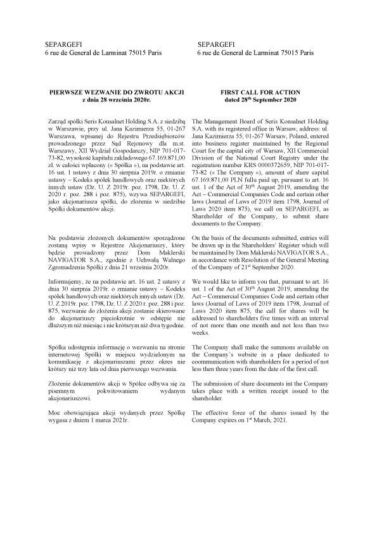 Pierwsze-Wezwanie-do-zwrotu-akcji-Seris-Konsalnet-Holding-S.A